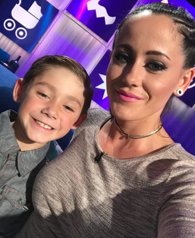 Jenelle With Jace