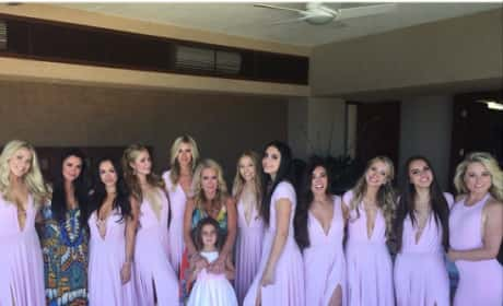 Kim Richards Attends Daughter's Wedding