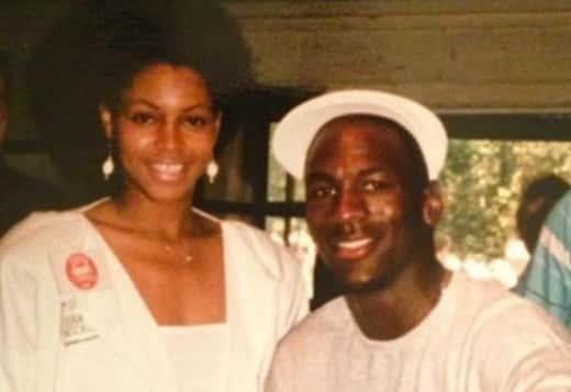 Pamela Smith, Michael Jordan