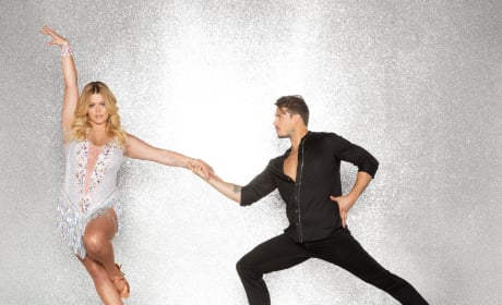 Sasha Pieterse and Gleb Savchenko