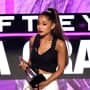 Ariana Grande Accepts Award at the American Music Awards