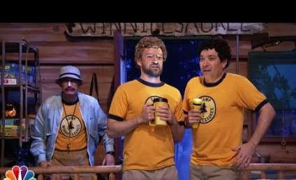 Justin Timberlake and Jimmy Fallon Return to Camp Winnipesaukee, Sing Third Eye Blind