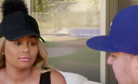 Rob Kardashian and Blac Chyna Have a Chat