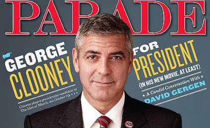 George Clooney Hates on Social Media