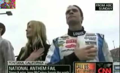 Star Spangled Spoiler: Jesse McCartney Forgets Lyrics, Ruins National Anthem