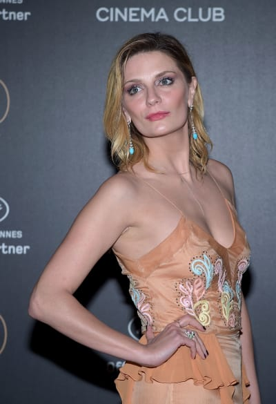Mischa Barton on a Red Carpet