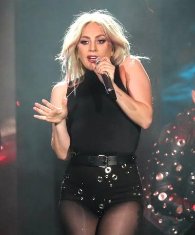 Lady Gaga Sings at Coachella