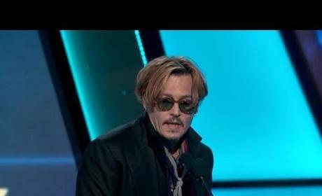 Johnny Depp: Hollywood Film Awards Speech