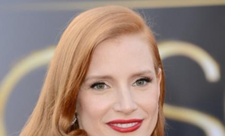 Jessica Chastain Oscar Dress