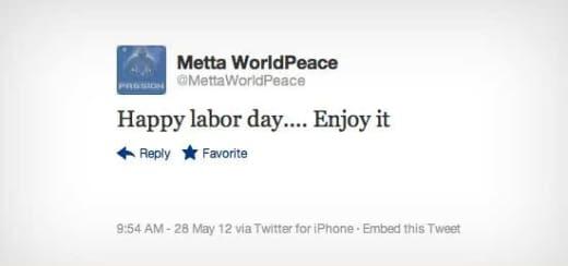 Metta Tweet