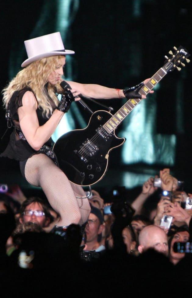 Madonna Bicep Pic