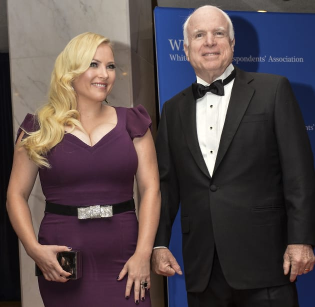 Meghan Mccain Wedding: Meghan McCain: Will She Be Fired From The View?!
