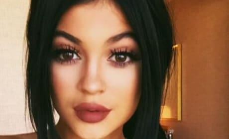 Kylie Jenner Nipple Piercing Photo