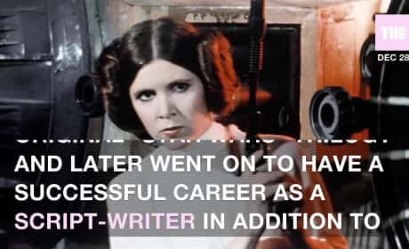 Carrie Fisher: Dead at 60