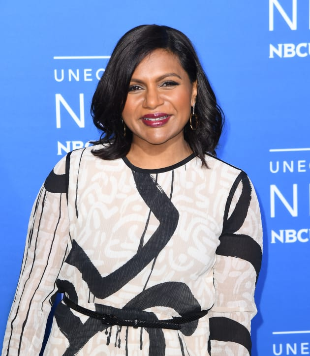 Mindy Kaling Smiles