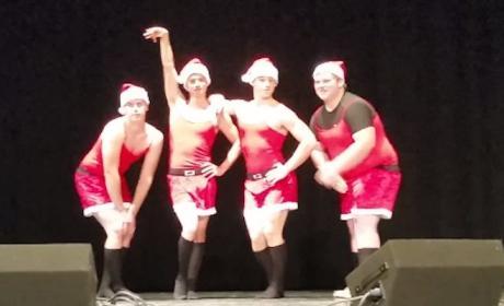 High School Students Recreate Mean Girls Christmas Dance