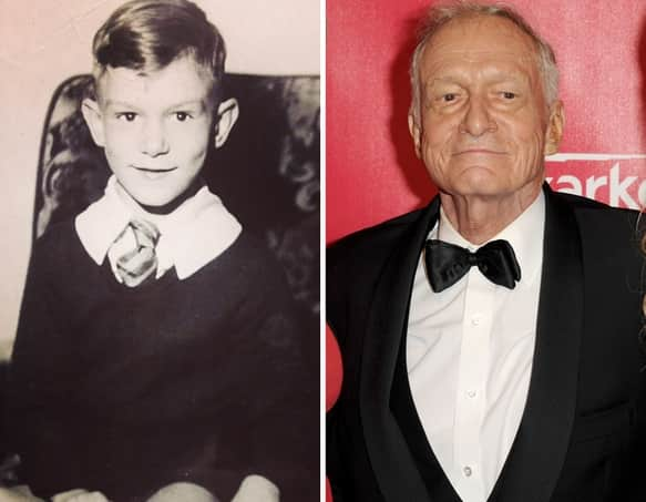 Hugh Hefner as a Kid