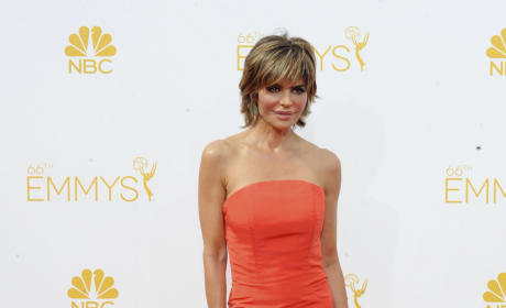 Lisa Rinna at the Emmys