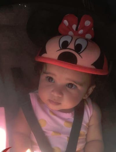 Dream Kardashian at Disney