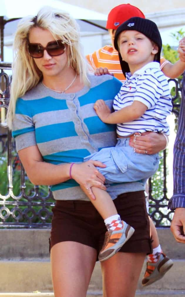 Britney with Jayden