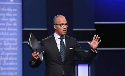 Lester Holt: Debate Moderator Criticized For Lack of Control
