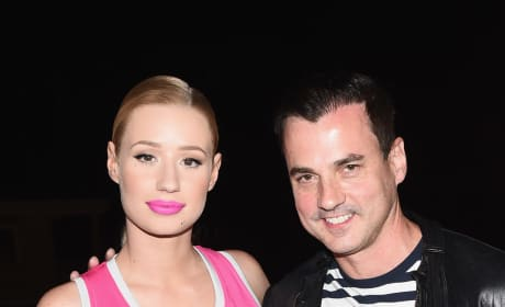 Tommy Page With Iggy Azalea
