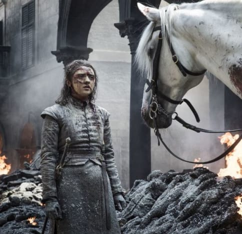 Arya and a Horse