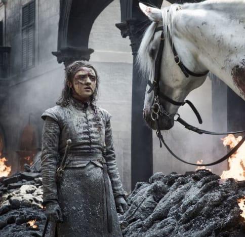 Arya and a Horse