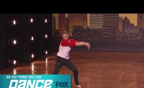 Caleb Brauner So You Think You Can Dance Audition