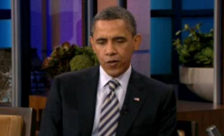 Barack Obama on The Tonight Show, Part I