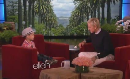 Kai Performs on Ellen, Makes Bruno Mars Proud