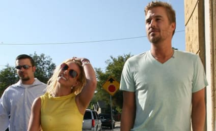 Britney Spears' Boys Love Their New Daddy