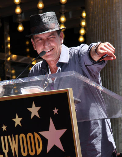 Charlie Sheen in Hollywood