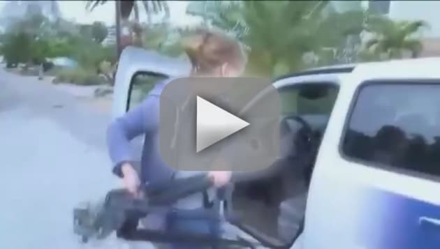 Florida Woman Steals TV News Reporter's Car on Camera: Watch Now!