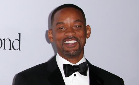 Will Smith in a Tuxedo