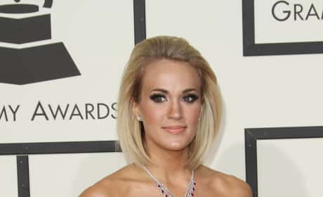 Carrie Underwood at 2016 Grammys
