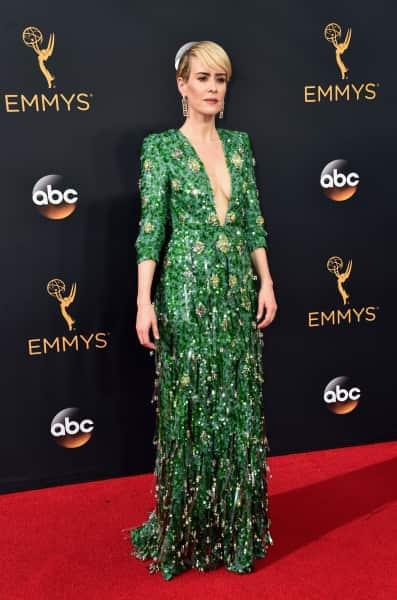 Sarah Paulson at the Emmys