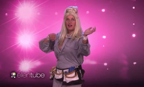 "Ellen DeGeneres Strips Down for New Season, Previews ""Magic Michelle"""