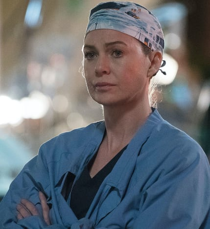 Meredith in Some Scrubs