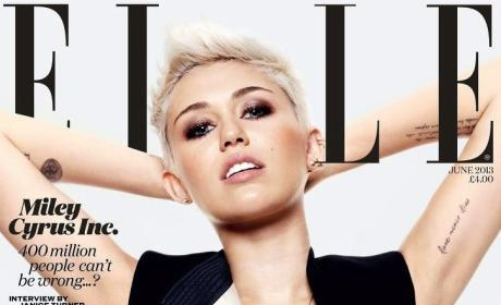 Miley Cyrus Elle Cover