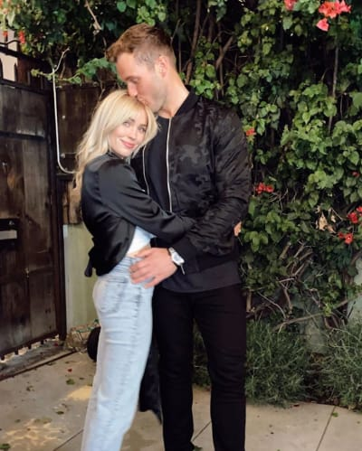 Cassie Randolph with Colton