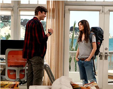 Mila Kunis on Two and a Half Men
