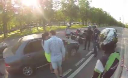 Couple Accosted By Biker Gang in Scariest Marriage Proposal Ever: Watch the Shocking Twist!
