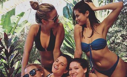 Selena Gomez Posts Bikini Pic to Ring in 2016!