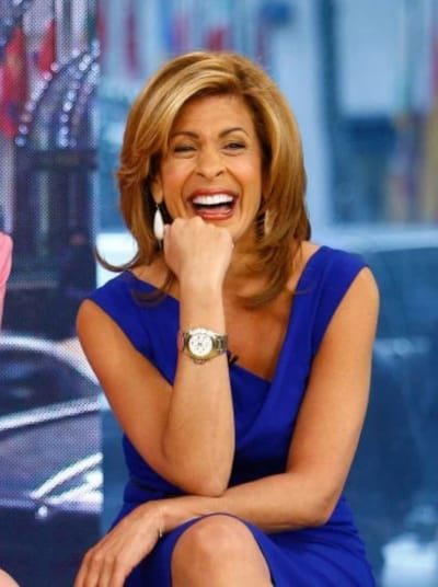 Hoda Kotb Laughs