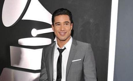 Mario Lopez at the Grammys