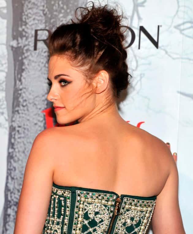 Kristen Stewart from the Back