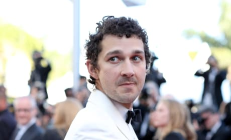 Shia LaBeouf in a White Tux