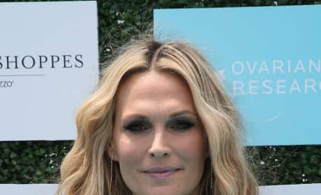 Molly Sims in Dress