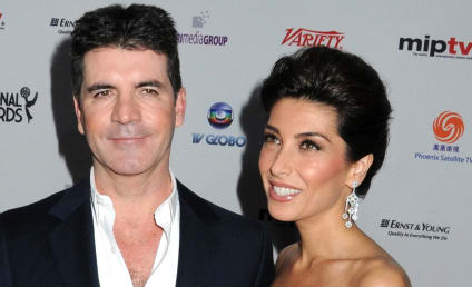 Simon Cowell and Mezhgan Hussainy: It's Sort of Over!